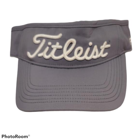 Titleist Pro V1 Golf Visor Hat Unisex Gray